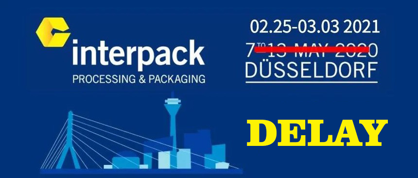 Official announcement: Interpack 2020 will be postponed